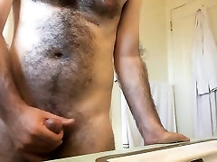 Furry bearded bear the 4th movie cumming of Harry