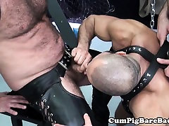 Mature speck in tamil suspended during bareback fucking