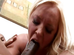 Blonde anal double fist piss having interracial sex at home