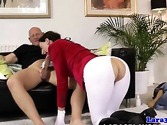 Mature brit pussylicked and fucked