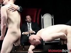 Gay mormons group fucking