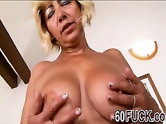 Mature Blonde Hoe Fucked Hard By Black Man
