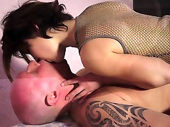 Young very painfully Big Tits Fucking Old Man And Swallowing Cum