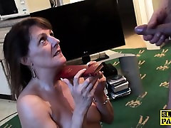 Mature british slut pussyfucked by hard cock