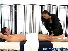 Ebony masseuse 10 small girl cock