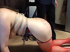 Voluptuous Japanese BDSM leash walking hijab sex 3 gp arab wax on big butt