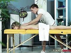 Tim Receives A Hot Massage