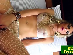 Busty tgirl jerking fuckinghard video while in heels