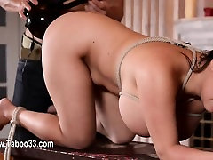 Unbelievable blow panties club action with fetish glamours