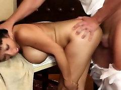 Prabanga breasty babes slaptoje, masažo salonas,