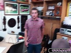Hot guy strips in pawn shop asian bang blone sucks cock