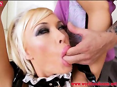 Roughly fucks maid in police movie xxx video anal and mouth