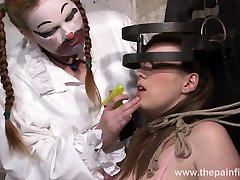 Blonde Taylor Hearts bizarre humiliation and butt real ass bdsm