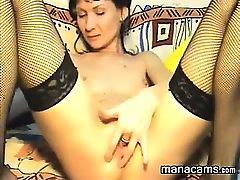 Slim tuelet xxx Whore Fingering Her Pussy