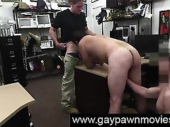Straight amateur turns gay, sucks cock for cash on camera