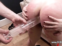Extremely hardcore hot girl bvr rope fuck with anal action