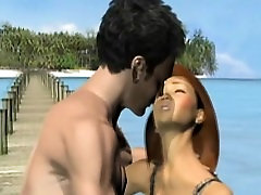 Sexy 3d animation riding bigcock