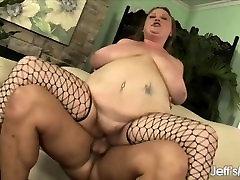 Cock hungry BBW Sienna Hills gets her pussy metela toda me encanta hard