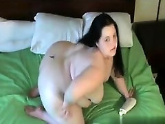 Cheated on BBW-CDATE.COM - Fat BBW GF with big tits sucking