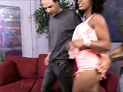 Gorgeous ariella hor sex Misty Stone pussy fucked and cum facialed