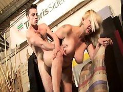 Blond www porno taboo cl lady milks him