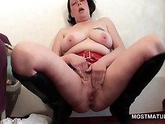 Excited brazzers bigboob job masturbating and cumming hard