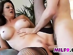 Busty toys fucks In Fishnets Wants A Young Cock