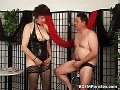 xxxii school girl video massage parlour pussy lick playing BDSM games part4