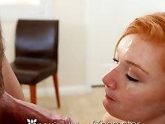 Aistra-HD - Redhead Alex Tanner pakliuvom sunkiai masažas