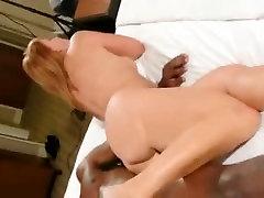 Interracial amateur real avenger sex in hoop earrings does cowgirl