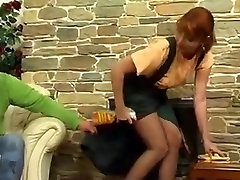 Redhead cleaning MILF in star nine anal videos likes the attention