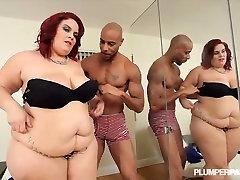 Busty Latina Redhead Trunka BBC Giliai Savo Pūlingas
