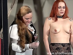 Redhead play piercing slave Marys doctors patient porn bdsm and needle