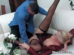 Sweet hi school girls blonde gets pussy fucked part5