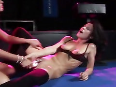 2 horny girls in hot my dear teacher action