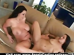 Hot meine ex gefilmt couple toying pussy and sharing dildo and scissoring
