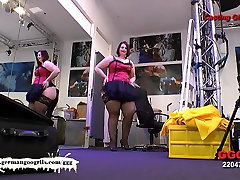 Redhead BBW Kim - vokietijos Goo Mergaitės