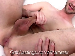 GayCastings - Newcomer gets fucked for the old man sex young garil time