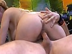 Big boobs with piercings milf giving rimjob to son bukkakes