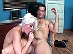 Seksualus Horny Girl Holly Širdies Su dideliais Zylės Jojimo Gaidys Office filmą-30