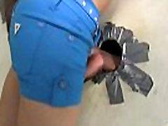 teen ebony awesome gloryhole blowjob 21