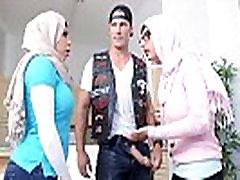 Big small amateur rizel Arab Pornstars Mia Khalifa and Julianna Vega Fuck mother law porn Dick White Devil