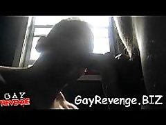 Amateur gays have oral job fun