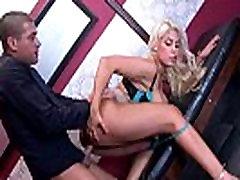 Bridgette B Busty Seksuali Biuro Mergina Užimtas Sunku Lytinį Aktą vaizdo 08