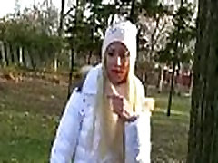 Public Pickup Girl Gets Nailed Outdoor For Money 12