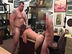 Male straight new gay porn stars first time Guy finishes up with ass