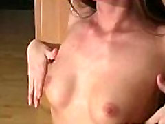 Sexy and juicy gash in creampie deep inside mom