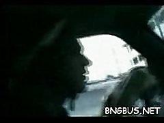 Porn hub gang bang bus