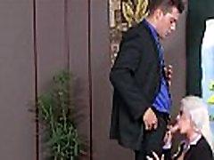 Apvalūs Dideli Papai Mergina Holly Širdies Gauti Susitrenkiau Office įrašą-25