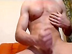 White gay with hard cock and sexy asshole